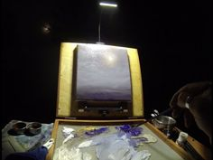 Midnight Fullmoon Painting Session - Plein Air Painting Adventures