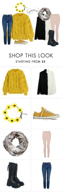 """turn into a garden"" by rowlet ❤ liked on Polyvore featuring Maison Margiela, Converse, Alva-Norge, Miss Selfridge and Topshop"