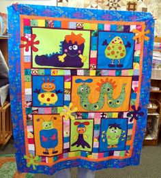 Attic Window Quilt Shop: MONSTERS IN THE ATTIC (WINDOW QUILT SHOP)