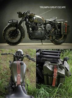 Vintage Motorcycles Muscle 10 Incredible Custom Motorcycles - Airows - Buying a motorcycle stock seems like an awful idea once you get a glimpse of how special and beautiful a custom ride can look. Unlike cars, which seem to look Triumph Motorcycles, Cool Motorcycles, Vintage Motorcycles, Indian Motorcycles, Motos Vintage, Vintage Bikes, Triumph Scrambler, Triumph Bonneville, Bonneville Motorcycle
