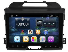 9 inch 1024*600 1.6GHZ 8G ROM Android 4.4 Car DVD Player 2 din For KIA Sportage Sportage R 2011-2015 WIFI 3G Bluetooth OBD SWC