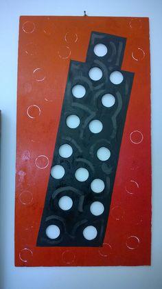 MarZen - Torre perforata 30,4x57,5 Smalto su tavola