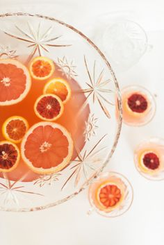 Boozy Winter Citrus Punch