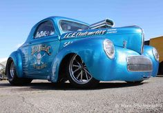 """""""Head Hunter"""" willys coupe"""