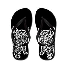 Frenchie flip flops!! CafePress has the best selection of custom t-shirts, personalized gifts, posters , art, mugs, and much more.