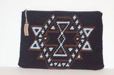 Black Wayuu Clutch