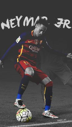 I chose this picture, because I love playing soccer. The player found in this picture happens to be my favourite player, Neymar Jr. Lionel Messi, Messi And Neymar, Good Soccer Players, Football Players, Fc Bacelona, Neymar Barcelona, Barcelona Sports, Neymar Jr Wallpapers, Paris Saint Germain Fc
