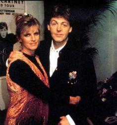 Paul and Linda McCartney, circa 1980's