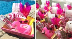 So many cute party favors at this bachelorette bash...