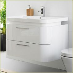 white bathroom wall cabinet without mirror is elegant