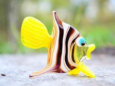 Fish Toys Murano Animals Tiny Small Figure Glass Sculpture   Etsy Elephant Sculpture, Sculpture Art, Murano, Black Decor, Glass Collection, Decoration, Glass Art, Art Pieces, Animaux