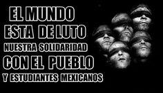 Después de tantos días y de conocer más detalles sobre el desaparecimiento físico de los estudiantes de Ayotzinapa en México... Que feo esta este mundo!!!- http://www.pixable.com/share/5Xt71/?tracksrc=SHPNAND2&utm_medium=viral&utm_source=pinterest
