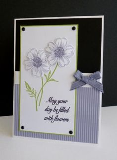 FS375 ~ Flowers for Sandy by sistersandie - Cards and Paper Crafts at Splitcoaststampers