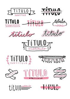 Bullet journal and notes titles inspo Bullet Journal School, Bullet Journal Headers, Bullet Journal Writing, Bullet Journal Ideas Pages, Bullet Journal Inspiration, Bullet Journals, Daily Journal, Study Inspiration, Pretty Notes