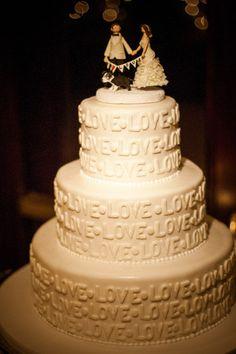 wedding LOVE LOVE LOVE.....CAKE