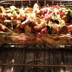 FoodsiChoosE: Chicken, Broccoli & Cauliflower Casserole