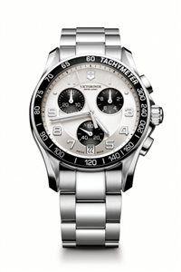 Unisex Hodinky Chrono Classic 241495 Swiss-made quartzový strojček ETA G10.211, Presnosť merania chronografu až 1/10 sekundy, tachymeter, priemer: ø 41 mm
