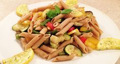 Gout-Friendly Recipe: Whole Grain Pasta Primavera [Healthagy]