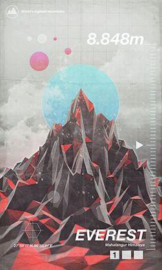 Highest Peaks - Giampaolo Miraglia | Graphic Design & Illustration