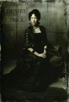 Deadwood Season 2 promo poster Molly Parker as Alma Garret