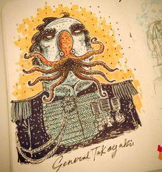O inspirador sketchbook de Steve Simpson