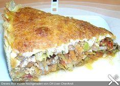 Gemüse - Hackfleisch - Kuchen