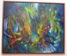De aquello imperceptible y frágil Óleo sobre lienzo 165 x 200 cms 2011 Colección privada