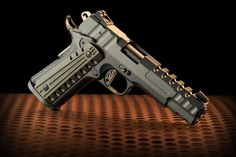 1911 with EXoSKELETON slide by CW Accessories