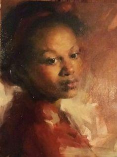 Oil portrait by Bonita Roberts
