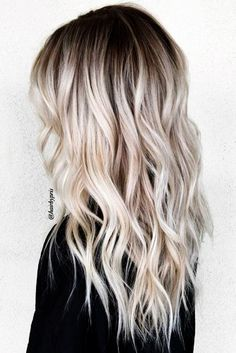 Perfect Ash Blonde Hair Color 2018 2 Fresh Platinum Balayage Hair Colors for Long Straight Hair in 2019 40 Blonde Ombre Hair Color Ideas for Women Trending This Year Platnium Blonde Hair, Platinum Blonde Hair Color, Blonde Hair Shades, Blonde Color, Platinum Blonde Balayage, Icy Blonde, Cool Blonde Balayage, Blonde Balyage, Blonde Hair With Dark Roots