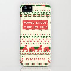 makes me wish i had a freaking iphone. i love a christmas story!! :(
