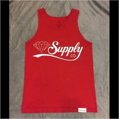 Diamond Supply Tank Men's small. Really great condition cute with a pair of shorts and some sneakers! Diamond Supply Tops Tank Tops