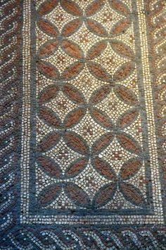 Mosaic at Roman Verulamium