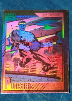 1991 marvel #universe  #hologram card #h-3 #punisher,  View more on the LINK: 	http://www.zeppy.io/product/gb/2/270611595878/