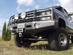 Heavy-Duty Winch Bumpers for 80s Chevrolet Chevy and GMC Trucks ...