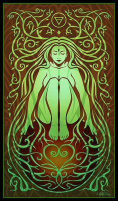 Earth Spirit Print By Cristina Mcallister
