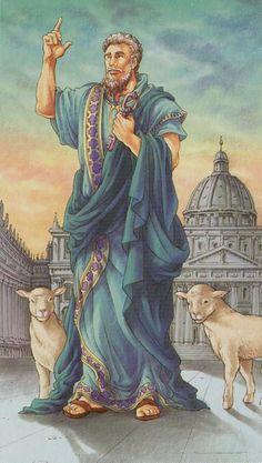 O Hierofante É bom lembrar que o Hierofante é a ponte entre dois mundo, é a espiritualidade na matéria e (conceito chave deste Arcano) a proteção que vem do alto e se manifesta no mundo físico.