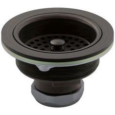 KOHLER Duostrainer 4-1/2 in. Sink Strainer in Oil-Rubbed Bronze-K-8799-2BZ - The Home Depot
