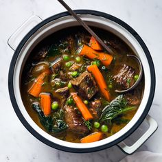 This super simple beef stew has only eight ingredients and two steps. Get the recipe at Food & Wine.