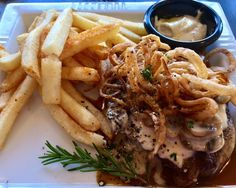 Happenings in California's Temecula Valley Wine Country - the new steak and fries special at Annata Bistro/Bar, Mount Palomar Winery's on-site restaurant and one of the few full service bars in Temecula, California wine country. #mountpalomarwinery