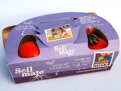 eco tomatoes carton packaging