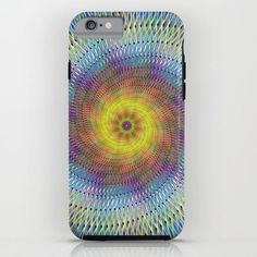 Psychedelic spiral iPhone 6 Tough Case