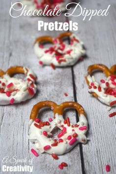 Chocolate Dipped Pretzels Recipe - A Spark of Creativity