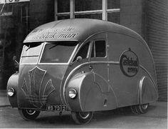construits par la Hollande Coachcraft à Glasgow en Angleterre, et sur un châssis Commer. Quelque temps dans le début des années 1930.