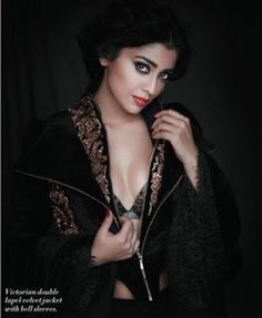 Shriya Saran poses for L'Officiel