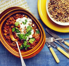 Aubergine & Chickpea Vindaloo - With Love From Frances Vindaloo, Dinners, Ethnic Recipes, Food, Hands, Dinner Parties, Suppers, Essen, Food Dinners