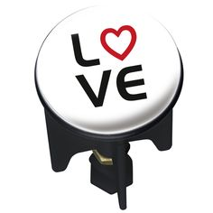 Waschbeckenstöpsel Pluggy® Love