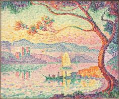 Paul Signac: color theory inspired Matisse in Toulouse.