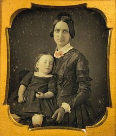 This photo makes me weep though the premise and practice behind it is kind of creepy and interesting.  Post-Mortem Photography - A Morbid Photographic Legacy Of The Victorian Era