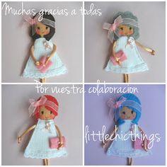 Little Chic Things Broches de Fieltro